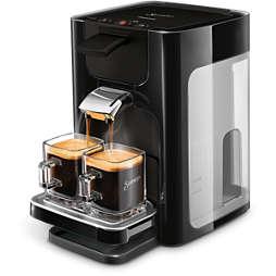 SENSEO® Quadrante Kohvipadjakestega kohvimasin