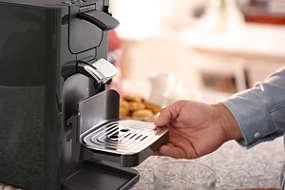 Quadrante Kaffeepadmaschine