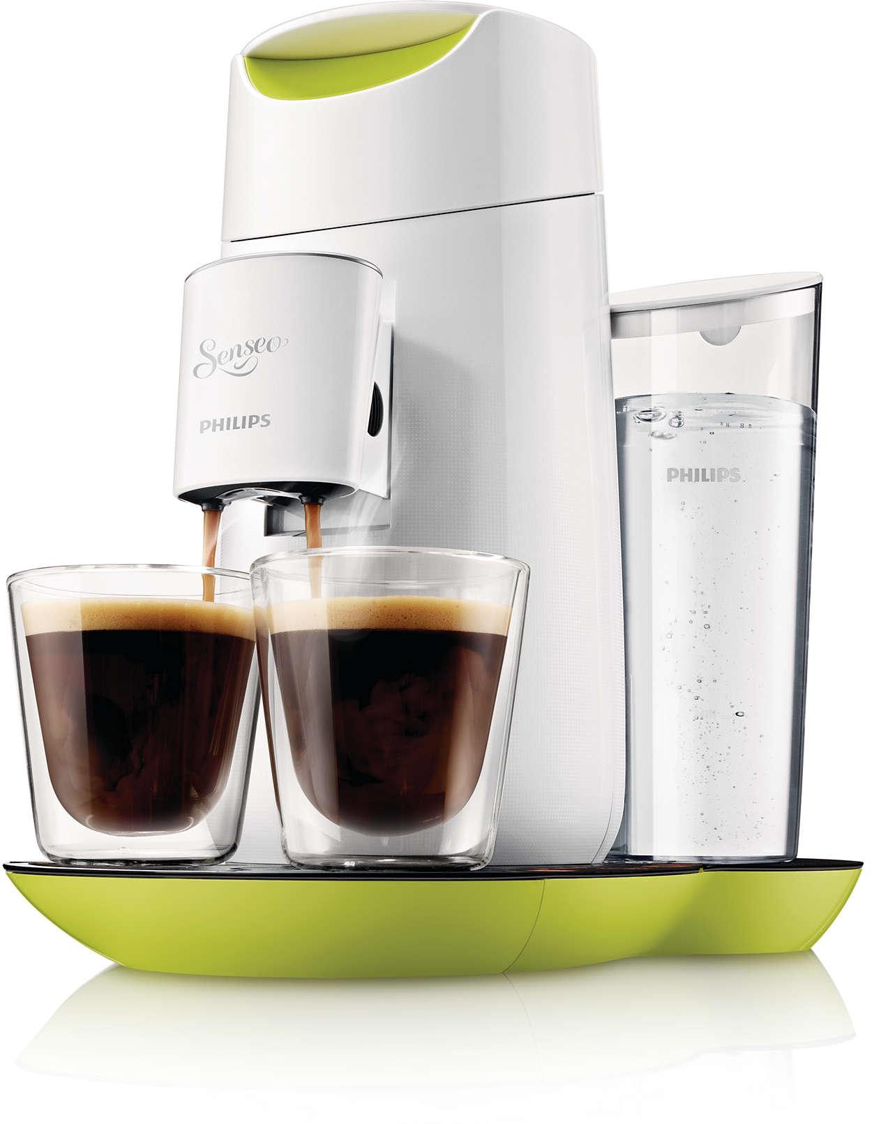 S kávovarom SENSEO® uvaríte kávu tak, ako vám chutí najviac