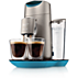 SENSEO® Twist Coffee pod machine HD7872/11 Made for SENSEO® coffee pods Caribbean Blue & Silver coffee memory function