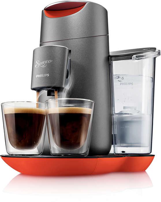 Twist Coffee Pod Machine Hd787350 Senseo