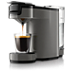 SENSEO® Up+ Coffee pod machine HD7884/30 coffee memory function Titanium Most compact Senseo ever