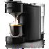 SENSEO® Up+ Coffee pod machine HD7884/61 coffee memory function Deep Black Most compact Senseo ever