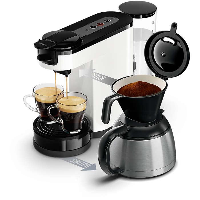 switch machine caf dosettes et filtre hd7892 00 senseo. Black Bedroom Furniture Sets. Home Design Ideas