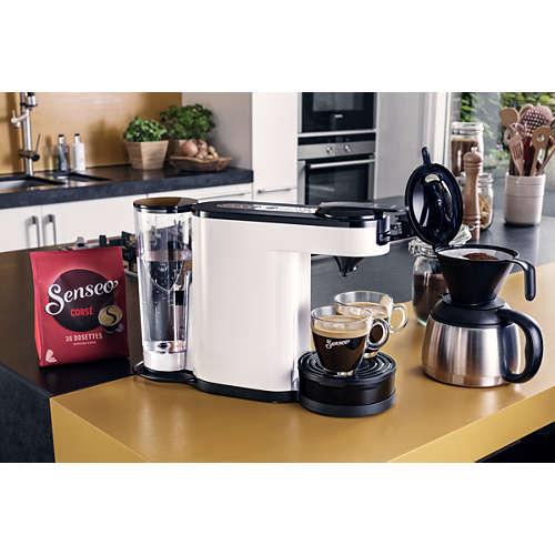 Switch Cafetera de monodosis y filtro