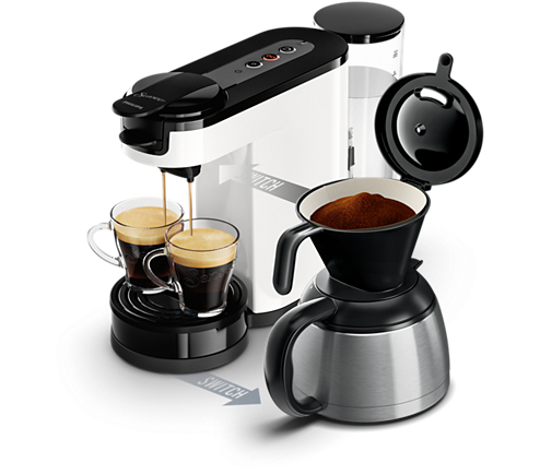 switch machine caf dosettes et filtre hd7892 01 senseo. Black Bedroom Furniture Sets. Home Design Ideas
