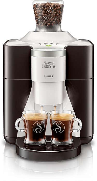 Ga voor SENSEO® SARISTA-koffiebonen met een twist