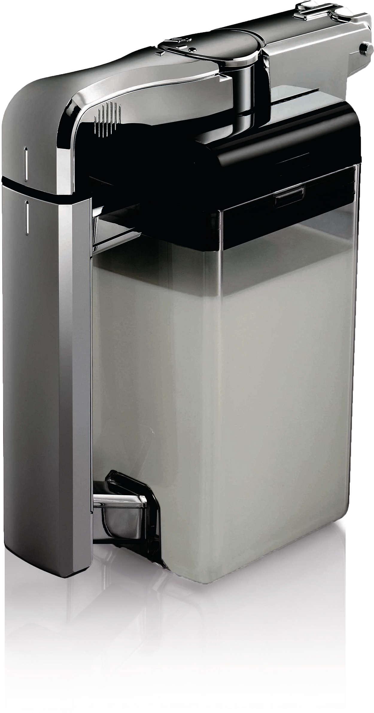 Permet de stocker le lait dans votre machine à café SENSEO®