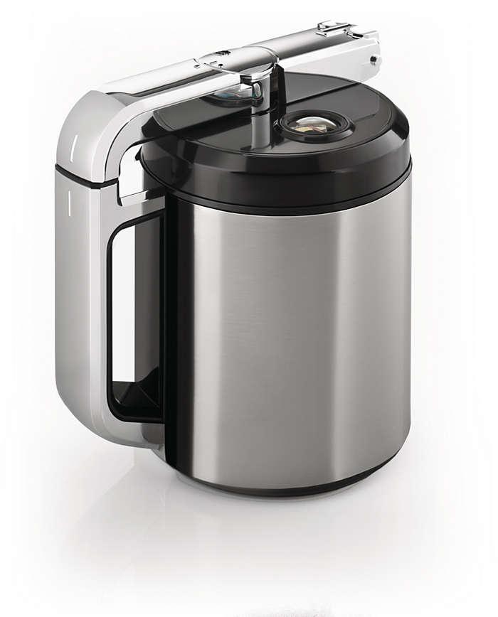Caraffa del latte integrata