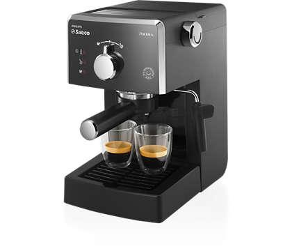Disfrute todos los días del auténtico café espresso italiano