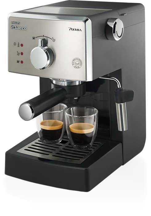Jeden Tag Espresso wie in Italien
