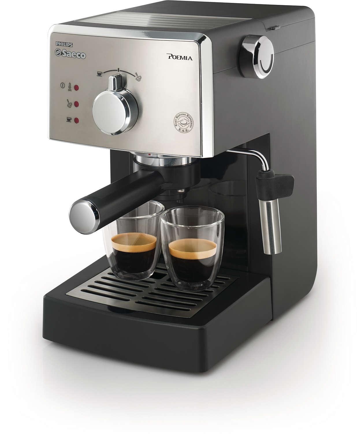 Prawdziwe włoskie espresso każdego dnia