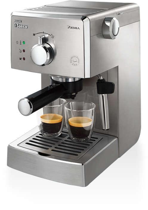 每天享受道地義式 Espresso