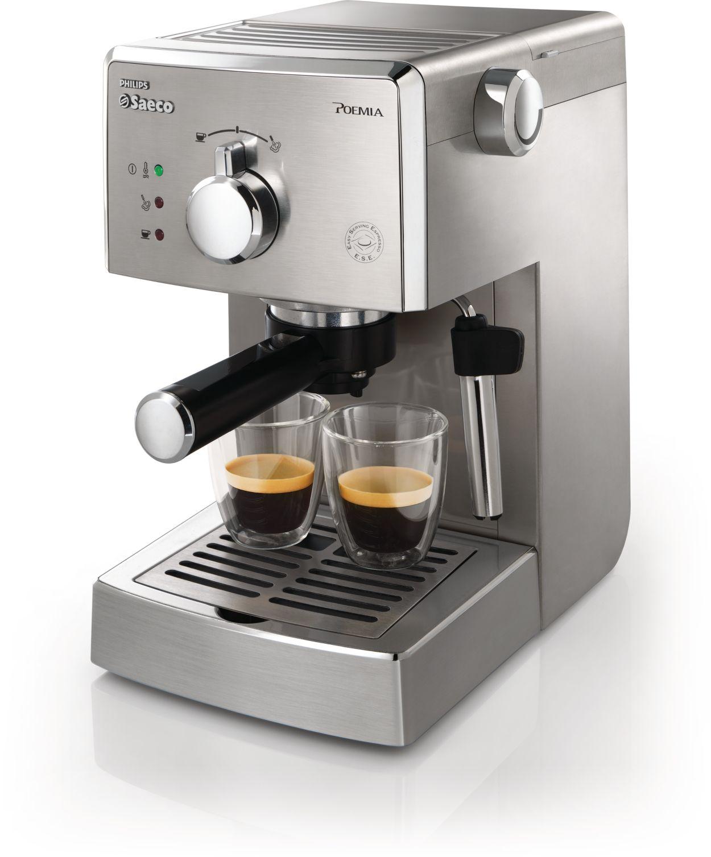 Electronic Saeco Coffee Machine Manual poemia manual espresso machine hd832747 saeco authentic italian every day