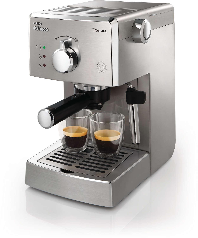 Un auténtico café espresso italiano todos los días