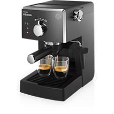 Cafeteras espresso manuales Saeco