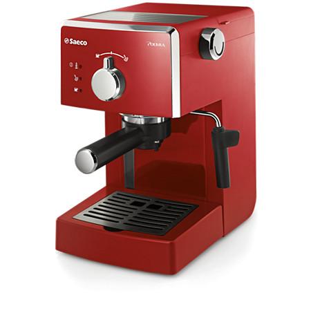 Cafeteras automáticas espresso manuales Poemia