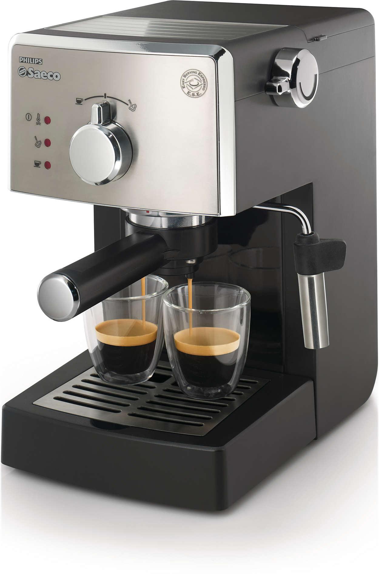 Elke dag authentieke Italiaanse espresso