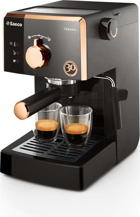 Aitoa italialaista espressoa joka päivä