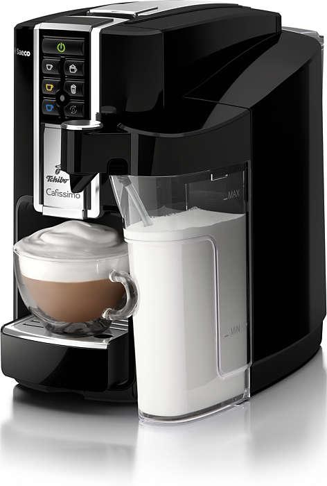 Machines à café automatiques à capsules