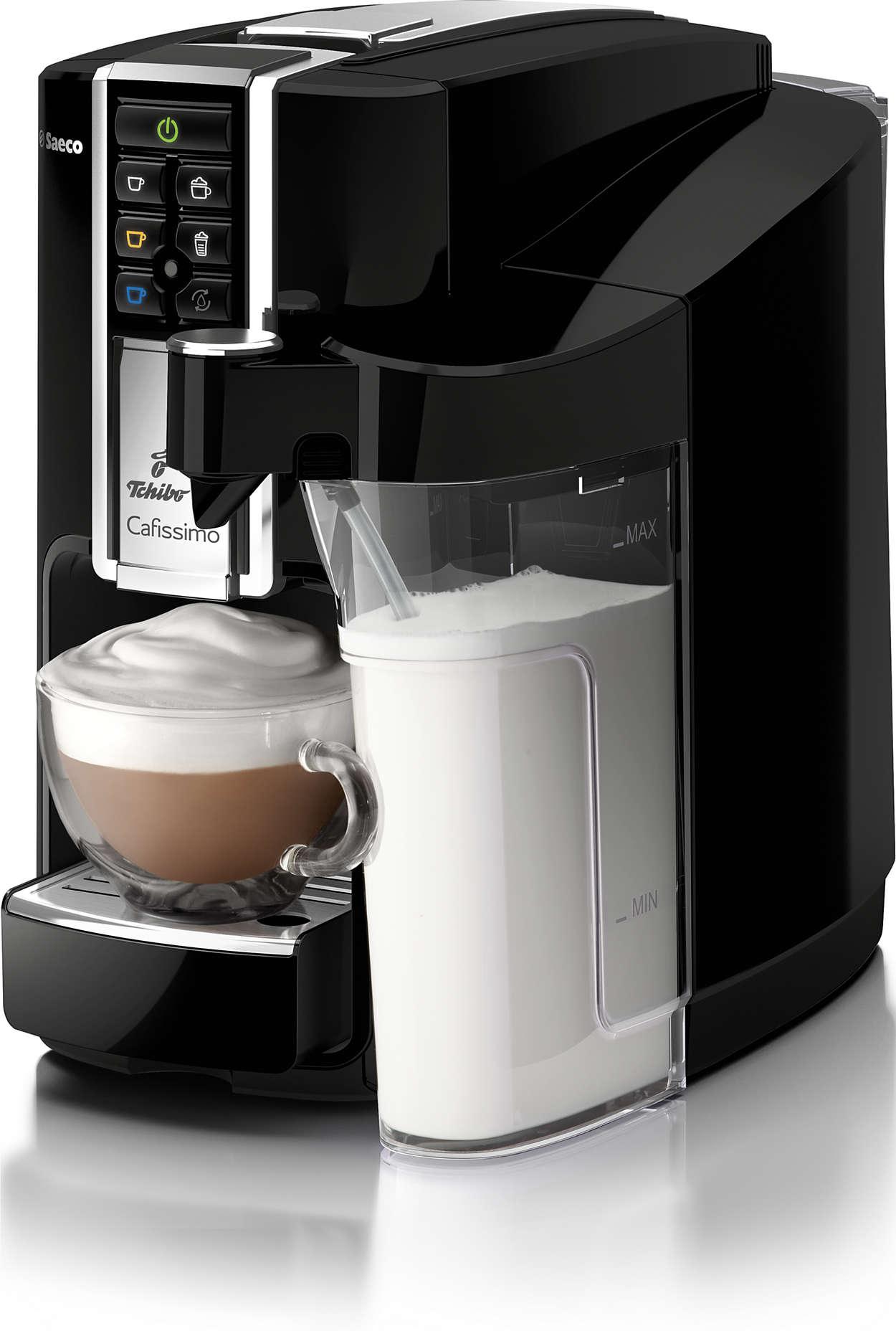 latte machine caf capsules hd8603 31 cafissimo. Black Bedroom Furniture Sets. Home Design Ideas