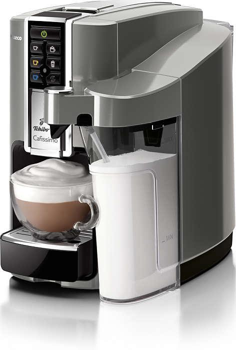 Teljesen automatikus kapszulás kávégép