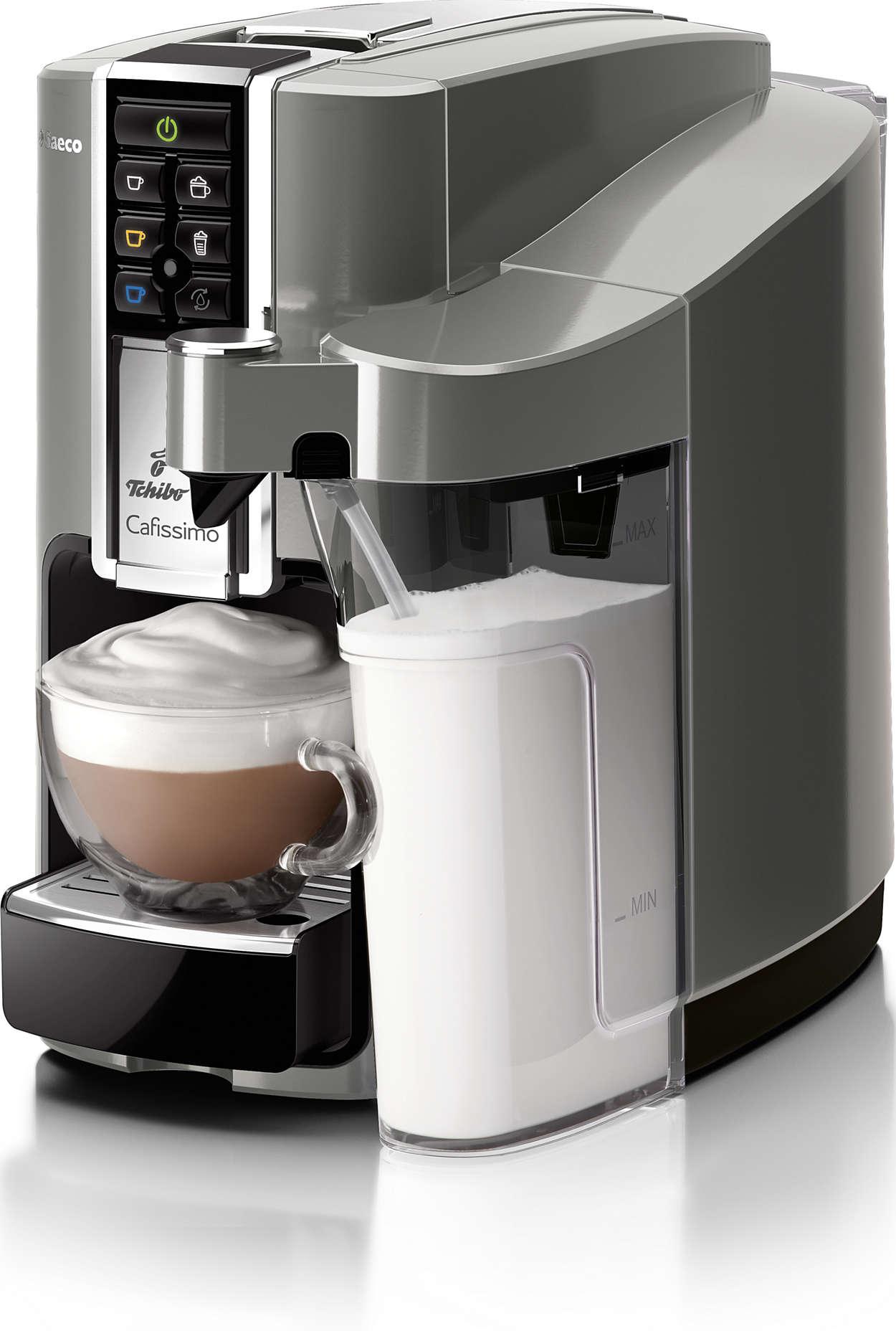 Plne automatické kapsulové kávovary