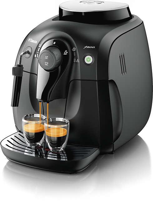 Gusta l'aroma dei tuoi chicchi di caffè preferiti