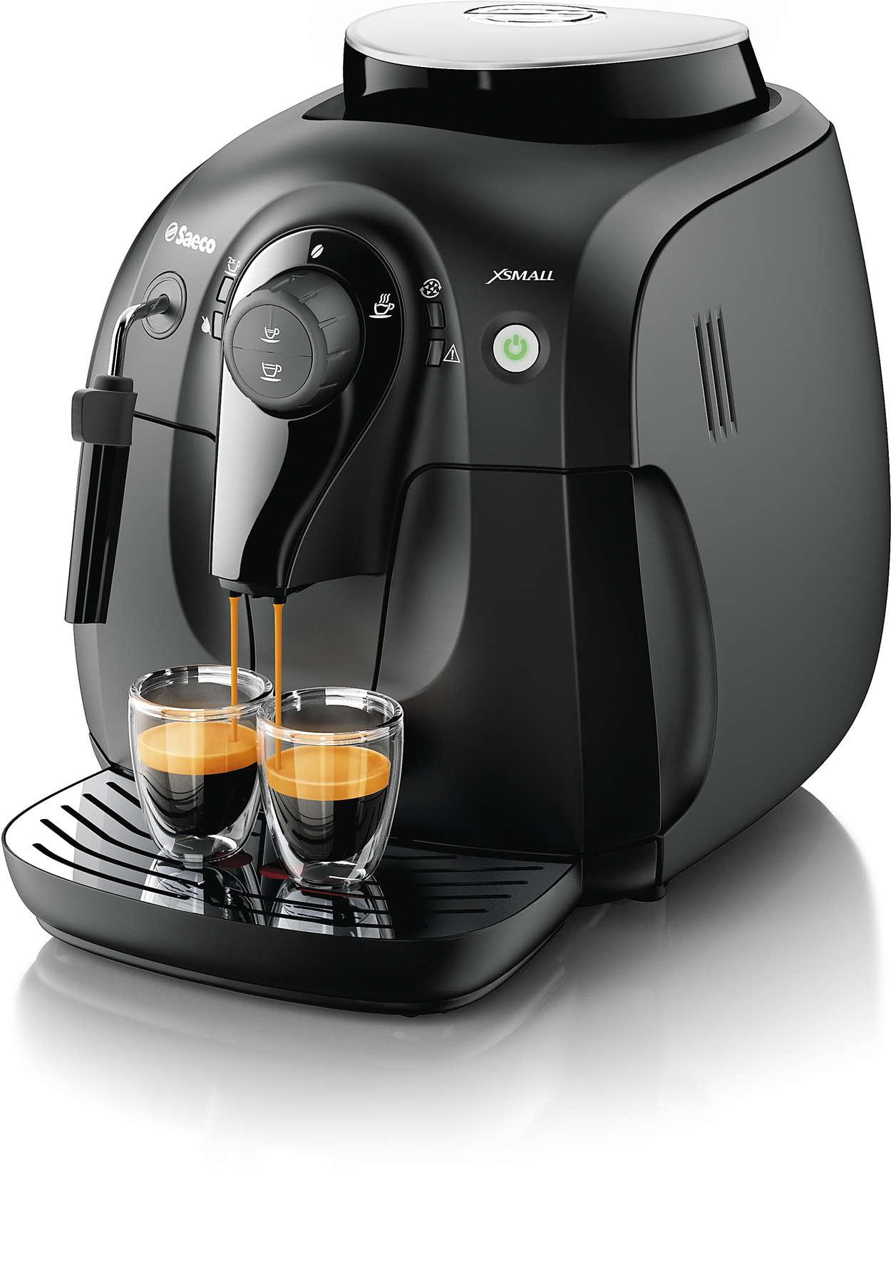 Saboreie o aroma dos seus grãos de café favoritos