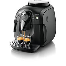 HD8645/09 -  Saeco Xsmall W pełni automatyczny ekspres do kawy