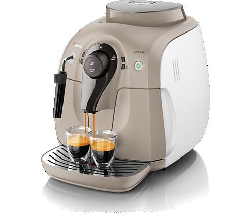 Xsmall Super Automatic Espresso Machine Hd8645 57 Saeco