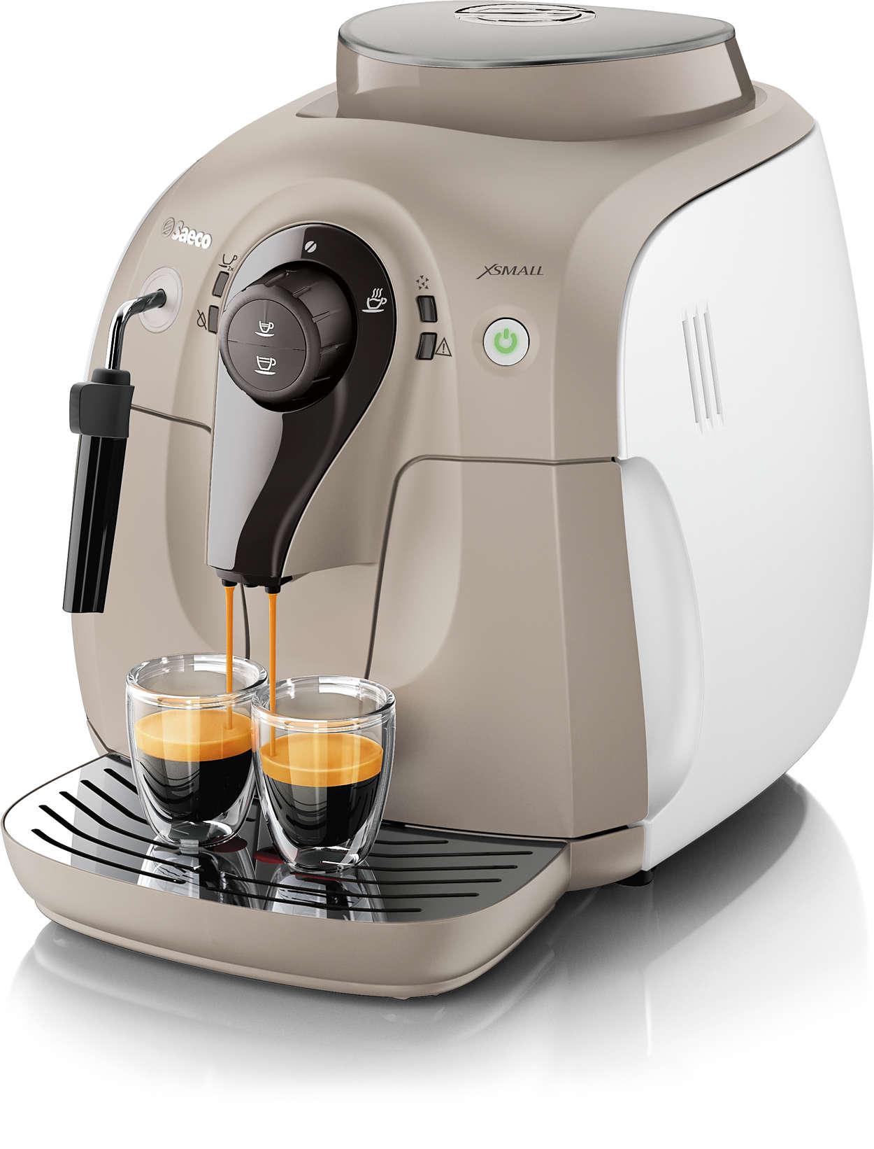 Libérez tout l'arôme de vos grains de café préférés