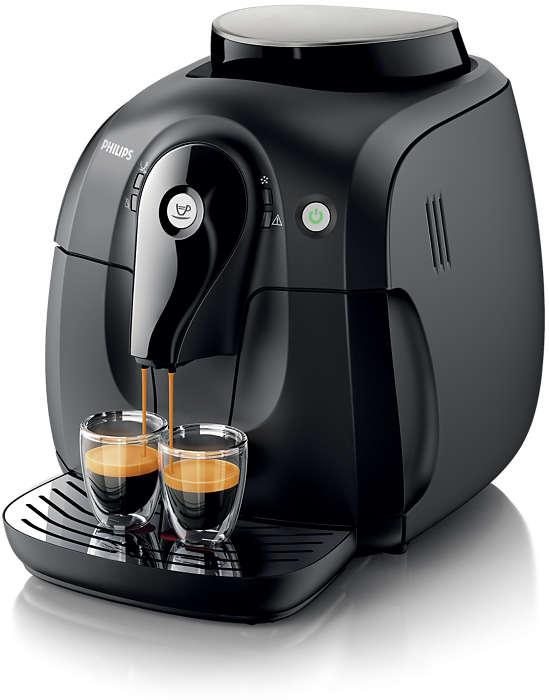 Erleben Sie das Aroma der Kaffeebohnen Ihres Lieblingskaffees