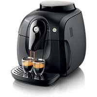 Czarny w pełni automatyczny ekspres do kawy — 1 dostępny napój