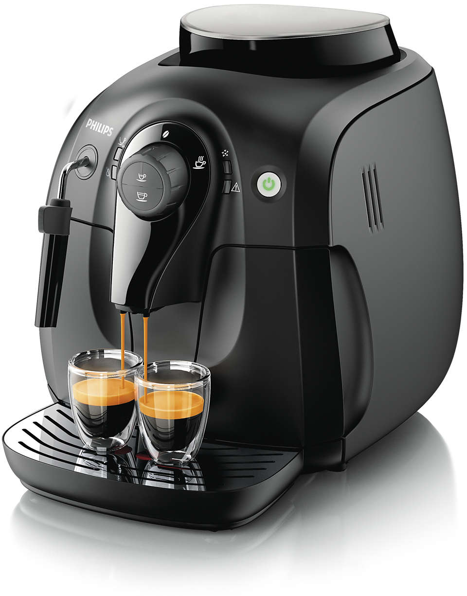 Disfrute del aroma de sus granos de café favoritos