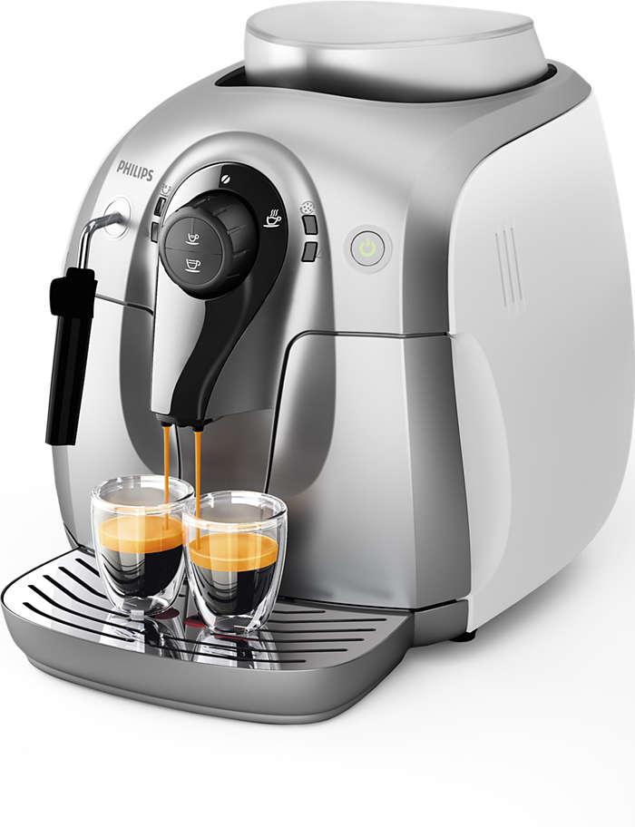 2000 series machine espresso super automatique hd8651 31. Black Bedroom Furniture Sets. Home Design Ideas