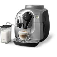 Helautomatisk espressomaskin med fire drikker