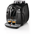 Saeco Xsmall Super-automatic espresso machine HD8743/31 Brews 2 coffee varieties Classic Milk Frother Black  5 step adjustable grinder