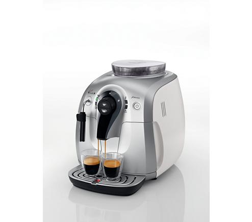 xsmall super automatic espresso machine hd8745 01 saeco. Black Bedroom Furniture Sets. Home Design Ideas