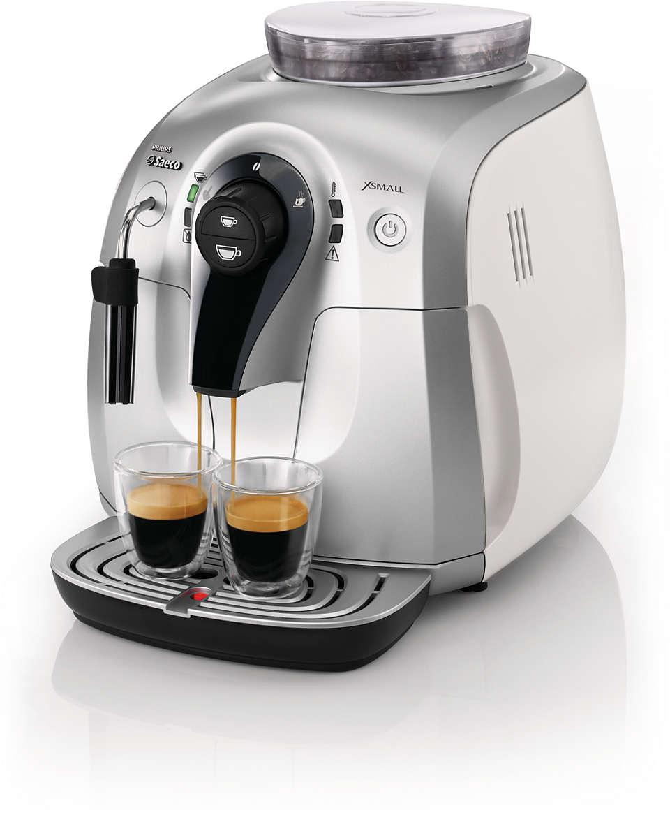 Experimente o aroma de seus grãos de café favoritos