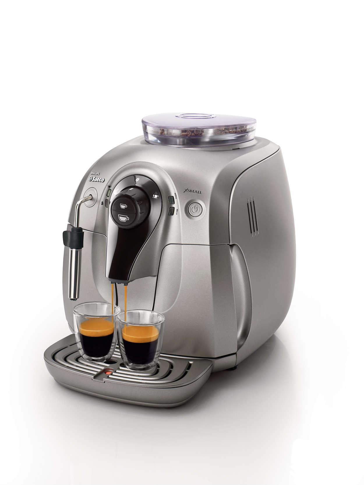Poczuj aromat ziaren ulubionej kawy.