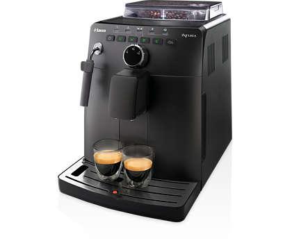 Espresso fra ferske bønner