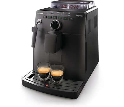 Espresso ze świeżych ziaren kawy
