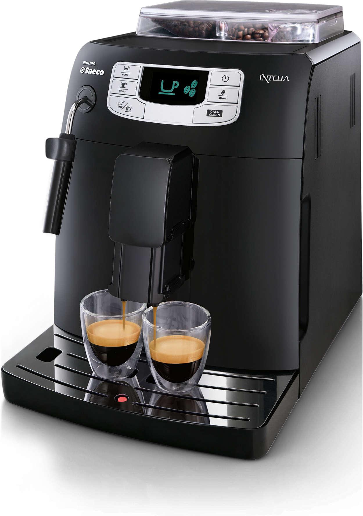 Espresso ja cappuccino yhdellä painalluksella