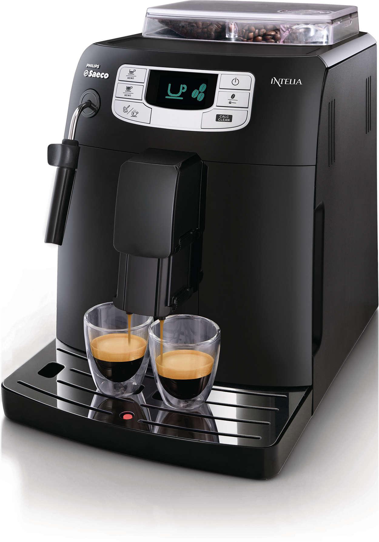 Un authentique espresso