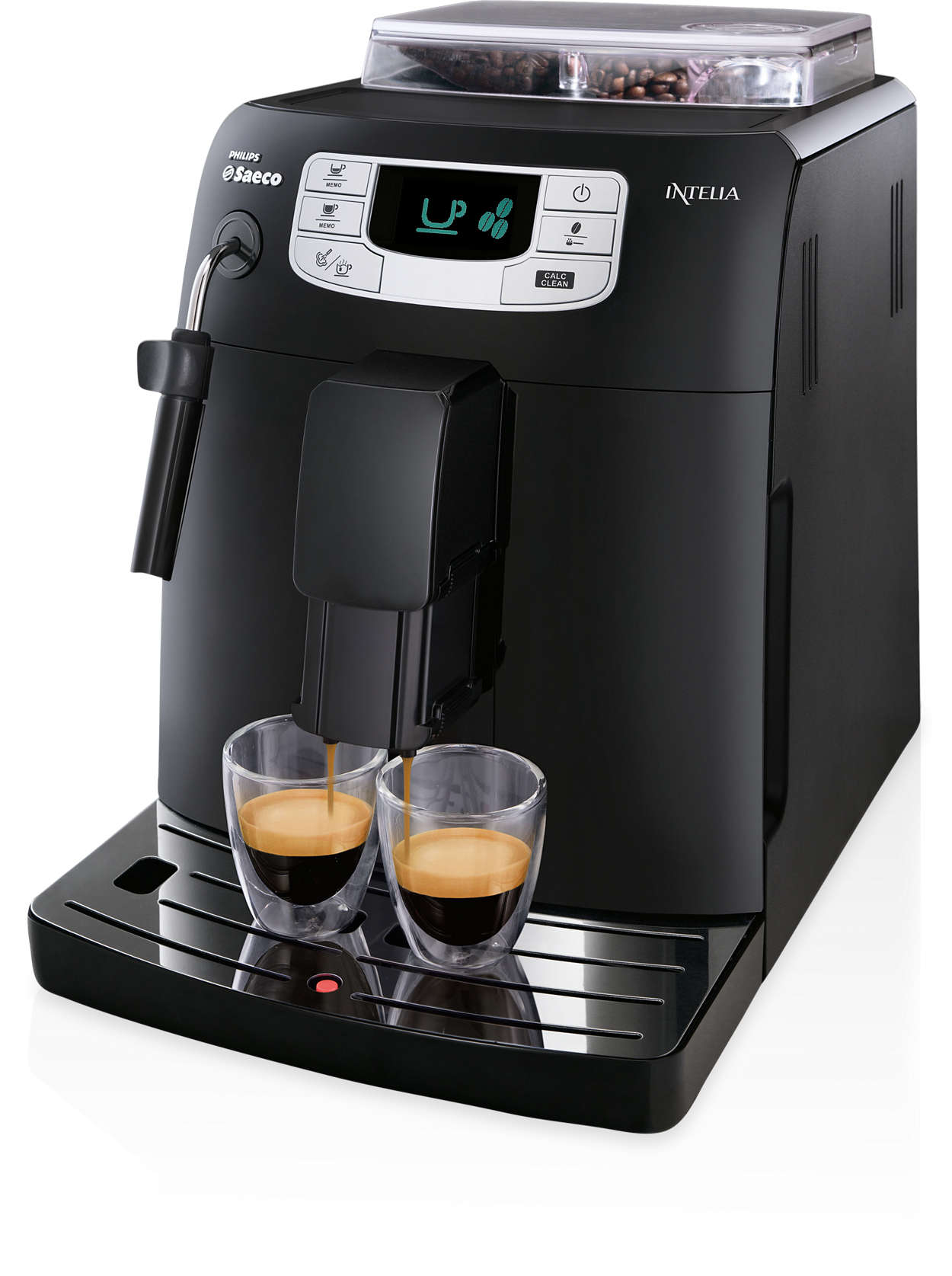 Espresso a káva stisknutím tlačítka