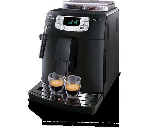 intelia super automatic espresso machine hd8751 47 saeco. Black Bedroom Furniture Sets. Home Design Ideas