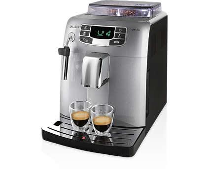 Espresso şi cafea printr-o atingere