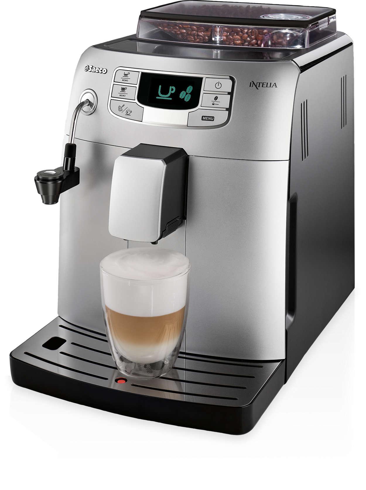 Эспрессо и другие виды кофе простым нажатием кнопки
