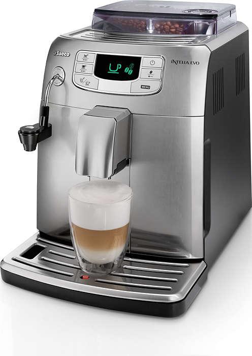Еспресо и млечна пяна с едно докосване